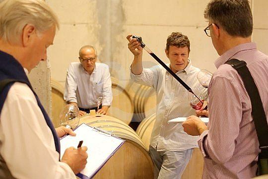 Weinprobe in Katalonien