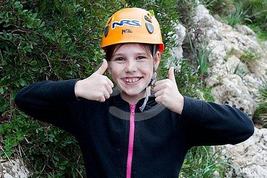 escalada en Mallorca con niños