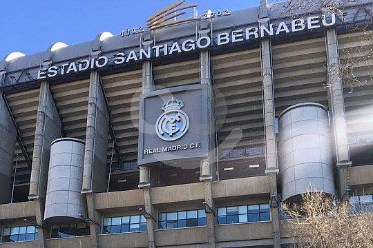 el estadio de fútbol de Real Madrid