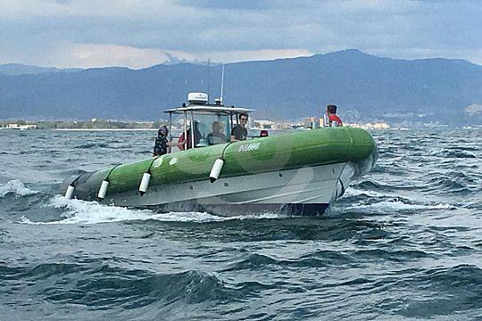 En barco por la Costa del Sol