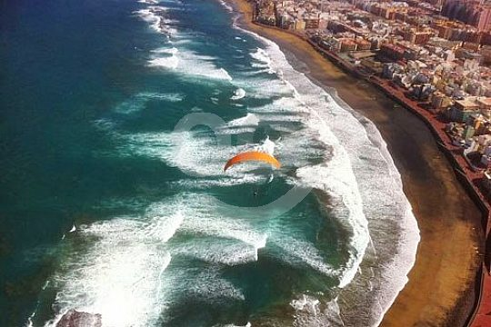 Gran Canaria Fallschirmflug