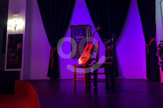 el bar de flamenco en Granada