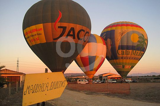 Ballon Flughafen Mallorca