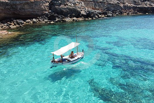 Barco formentera privada