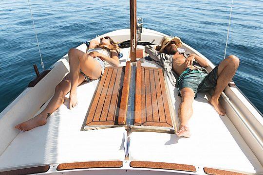 alquiler de barcos sin titulacion en formentera