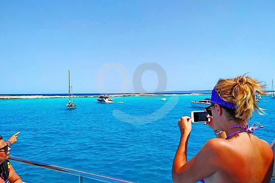 Bootstour nach Formentera mit Sightseeing