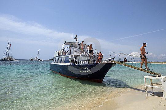 Ankunft auf Formentera
