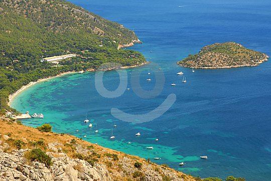 excursion a Formentor desde arriba