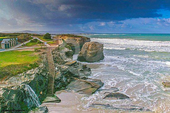 la más bonita vuelta de Galicia