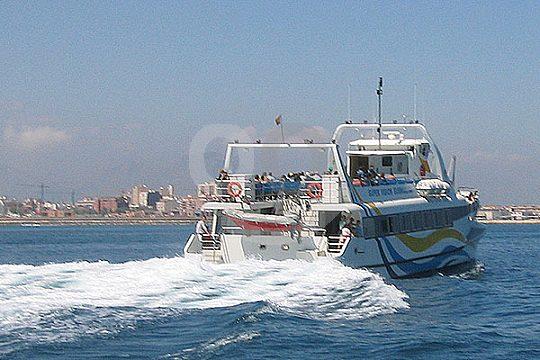 Paseo en catamarán con paella Gandia
