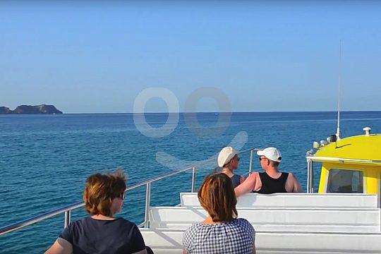 Andratx excursión en barco de visión submarina