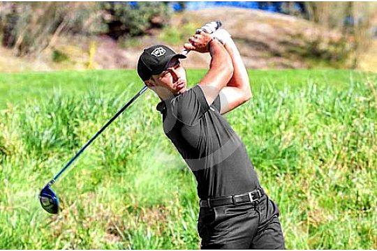 training mit golfer sebastian garcia