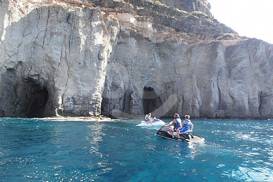 den Süden Gran Canarias mit dem Jetski entdecken