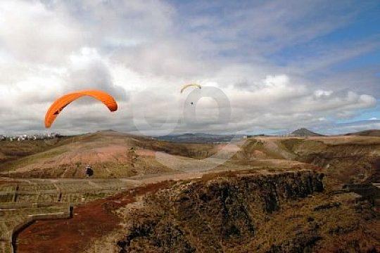 Die Berge Gran Canarias von oben sehen
