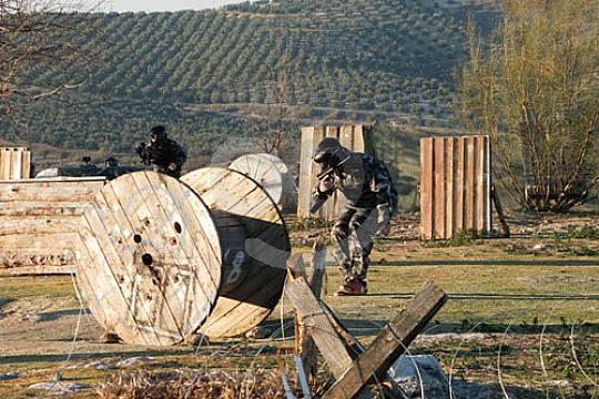 jugar paintball en Andalucia