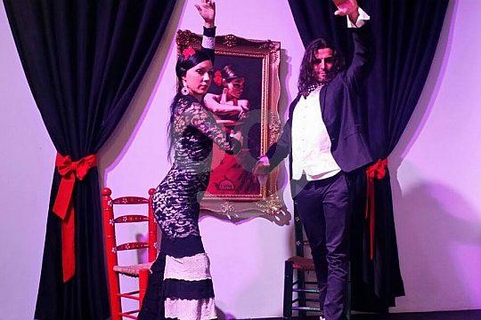 bailarines de flamenco de Sacromonte