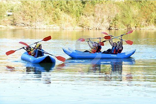 kayak de aguas bravas cerca de Malaga