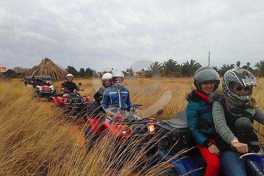 excursión en quad por la naturaleza