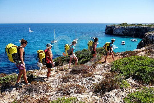 Wandern und Höhlenschwimmen in Mallorca