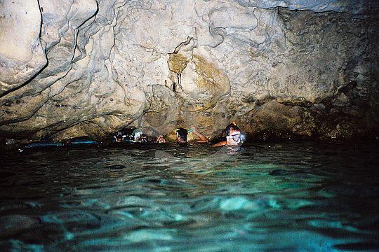 Cueva natación Formentera