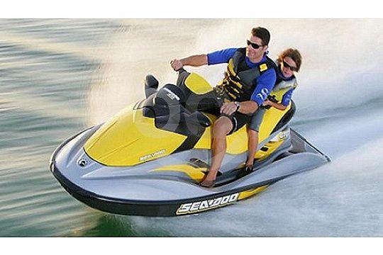 alquiler un moto de agua en Ibiza sin licencia