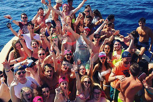 Partyboot Mallorca Stimmung