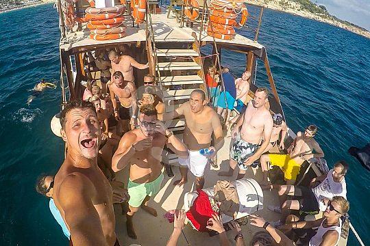Partyboot Mallorca am Ballermann
