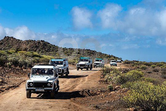 desde Maspalomas a Jeep Safari en las montañas