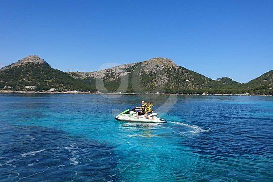 Jetski fahren im Norden Mallorcas
