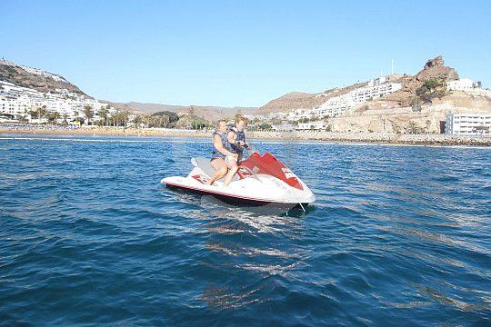 Südküste Gran Canarias Jetski fahren