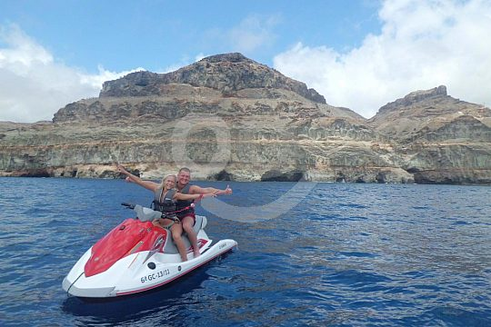 Fahrspaß bei Jetski Tour auf Gran Canaria