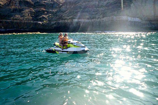 Jet ski en la costa sur de Fuertevenura