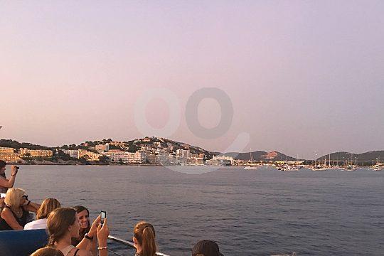 Mallorca puesta de sol excursión en barco