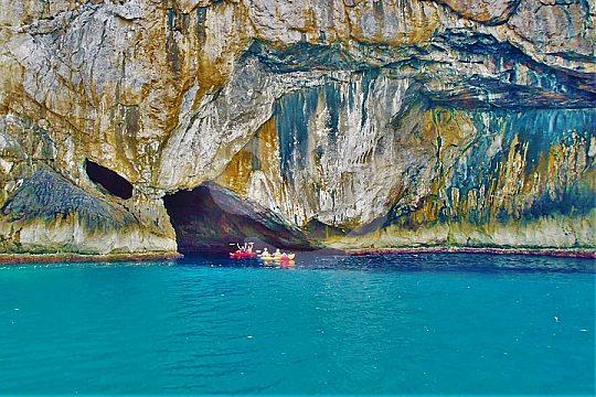 descubra Mallorca con kayak