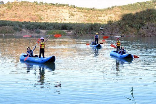 cerca de Granada con kayak