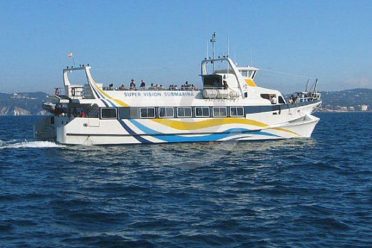 Costa Alzahar en catamarán desde Gandia