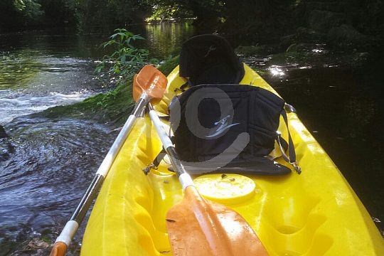 Flusstour im Doppelkajak