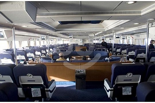 An Bord der Ibiza Fähre von Mallorca