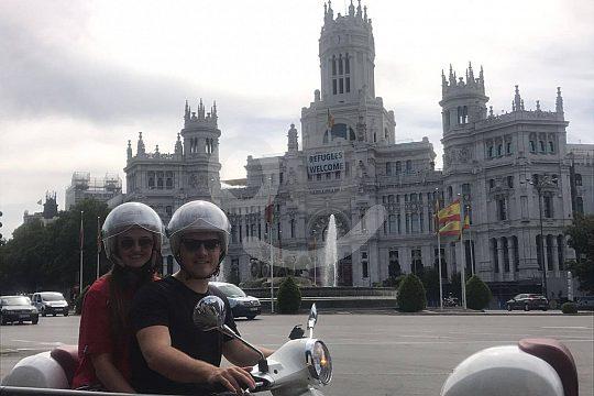el alquiler de motos en Madrid