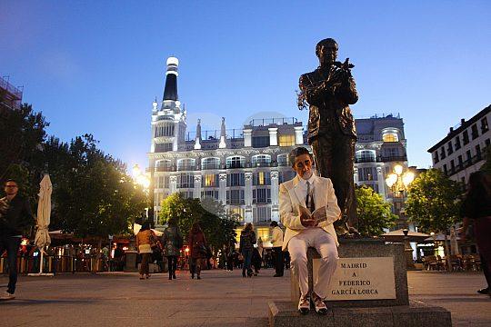 Federico Lorca en Madrid