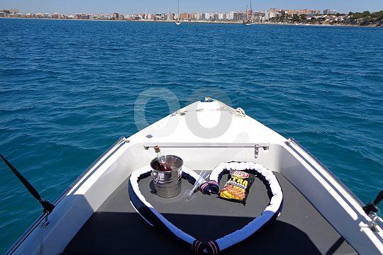 Mallorca Boot für bis zu 5 Personen