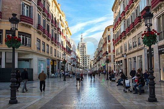 Málaga centro historico
