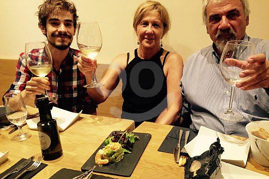 prueba vino en Malaga