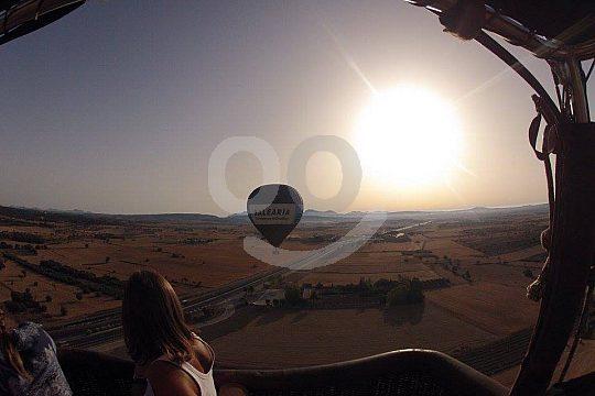 Mit dem Ballon über Mallorca