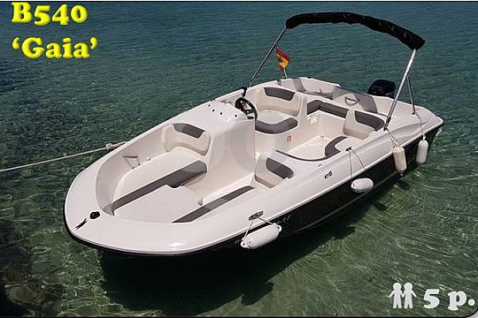 Auf Mallorca Motorboot Gaia mieten
