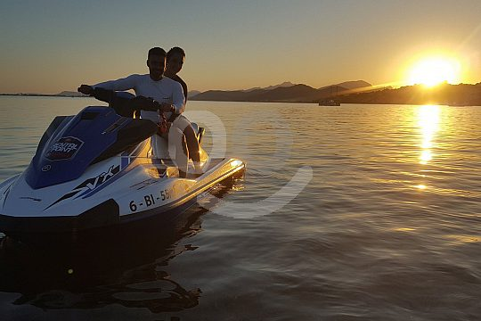 Alcudia Jetski Tour zum Sonnenuntergang