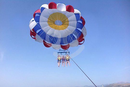 Paracaidismo en el norte de Mallorca