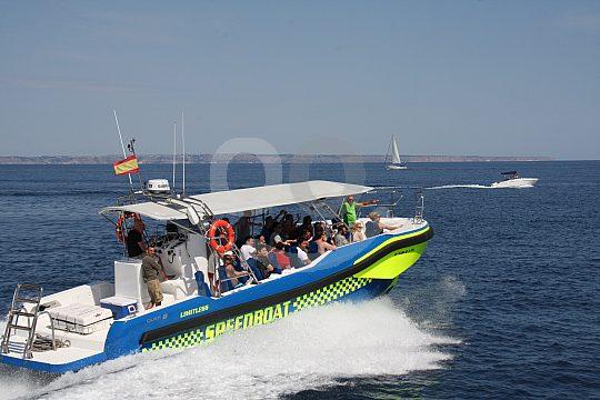 Adrenalinkick mit dem Speedboot auf Mallorca