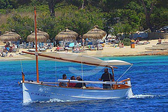 salida privada en barco en Mallorca