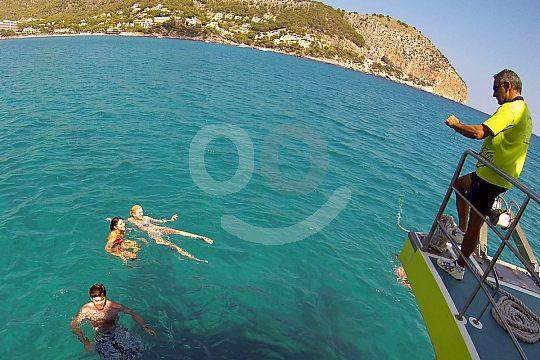 diversión en el mar